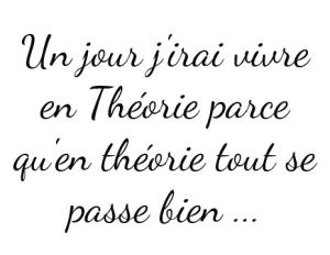 En théorie